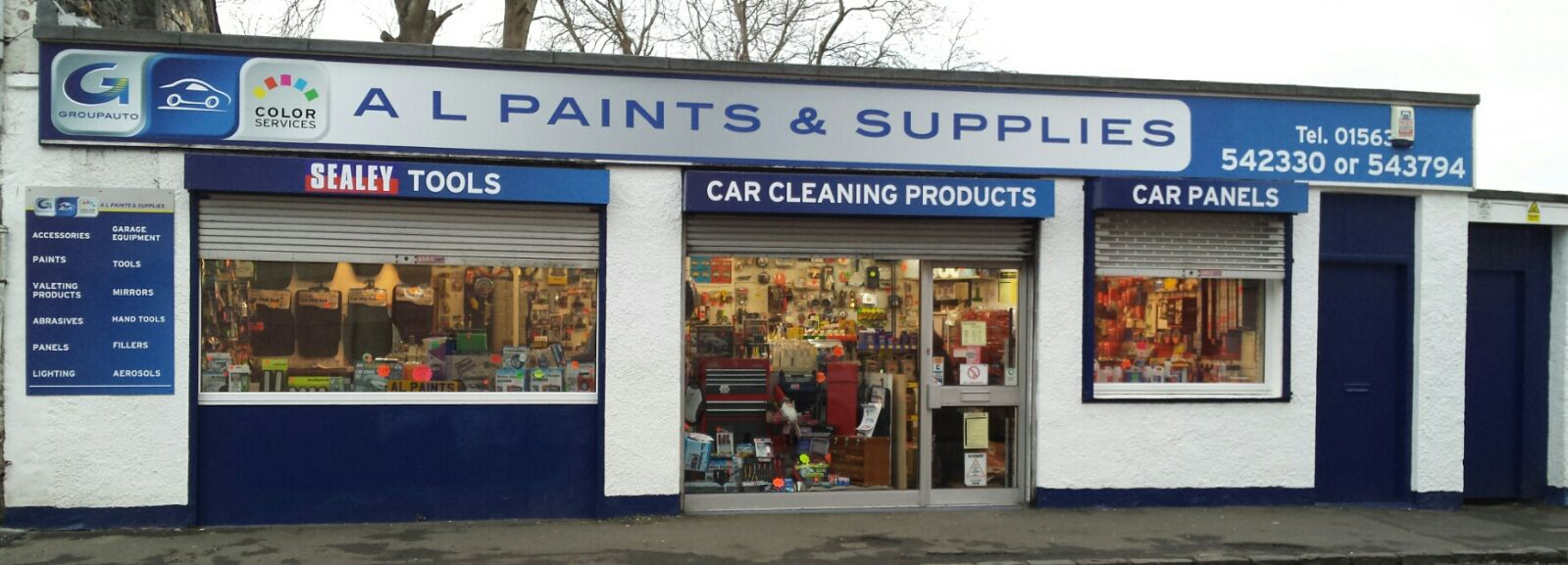 A L Paint and Supplies